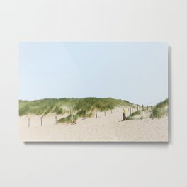 Summer on the beach in the Netherlands Metal Print