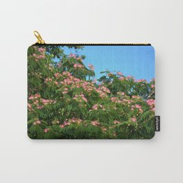 Mimosa Branch Carry-All Pouch