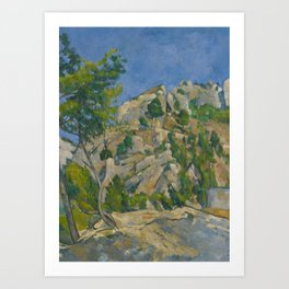Paul Cézanne - Bottom of the Ravine Art Print