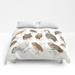 Owls Comforters