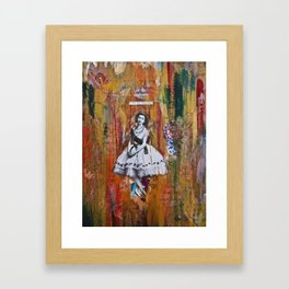 It's Not Easy Being Queen  Framed Art Print