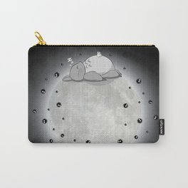 My Neighbour - Moon Nap - black Carry-All Pouch