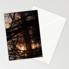 Winter Sun and River Stationery Cards