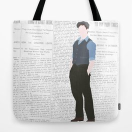 JACK KELLY – NEWSIES Tote Bag
