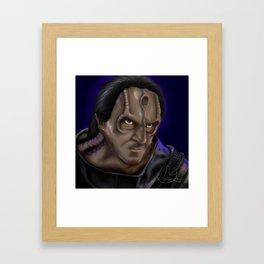 Gul Dukat Framed Art Print