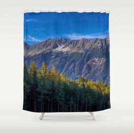 Arch of Larch Shower Curtain