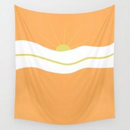 """ Orange days "" Wall Tapestry"