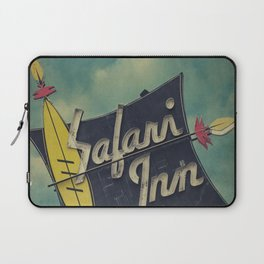 Safari Inn, Burbank, CA.  Laptop Sleeve