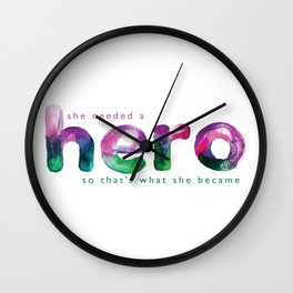 Hero Wall Clock