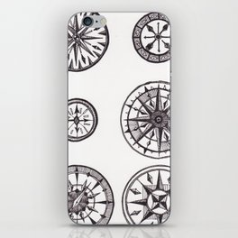 Compasses iPhone Skin