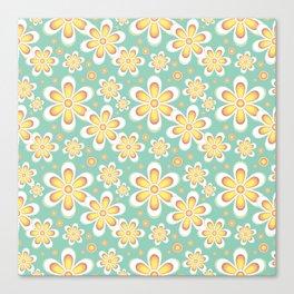 Seamles Floral Canvas Print