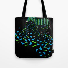 Geometric Zebra Tote Bag