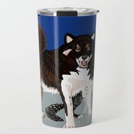 Karafuto Ken - Sakhalin husky Travel Mug