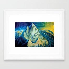 Mt Grohman Framed Art Print
