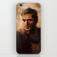 mad max iPhone & iPod Skins featuring Max by nlmda