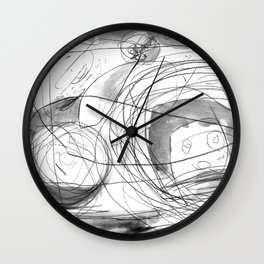 Me & Daddy Wall Clock