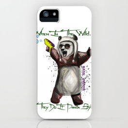 Panda Style iPhone Case