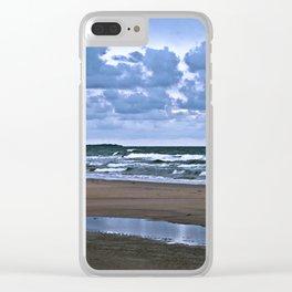Wild Romo Beach in Denmark Clear iPhone Case