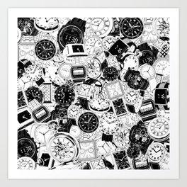Tick Tock Art Print