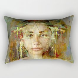 Princess Aztec Rectangular Pillow