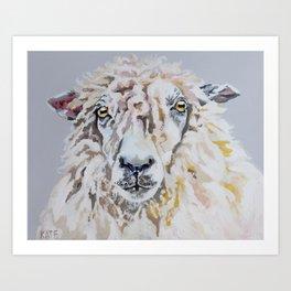Wooly Art Print
