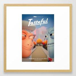 Tasteful Poster Framed Art Print