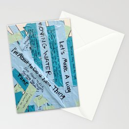 Layered Voices Stationery Cards