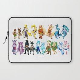 Eeveelutuions Complete Artwork Laptop Sleeve