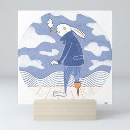 Sea Captain Mini Art Print