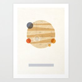 Jupiter I Art Print