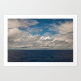 Clouds II Art Print