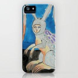 Lepus Gallus -- Creature Series iPhone Case