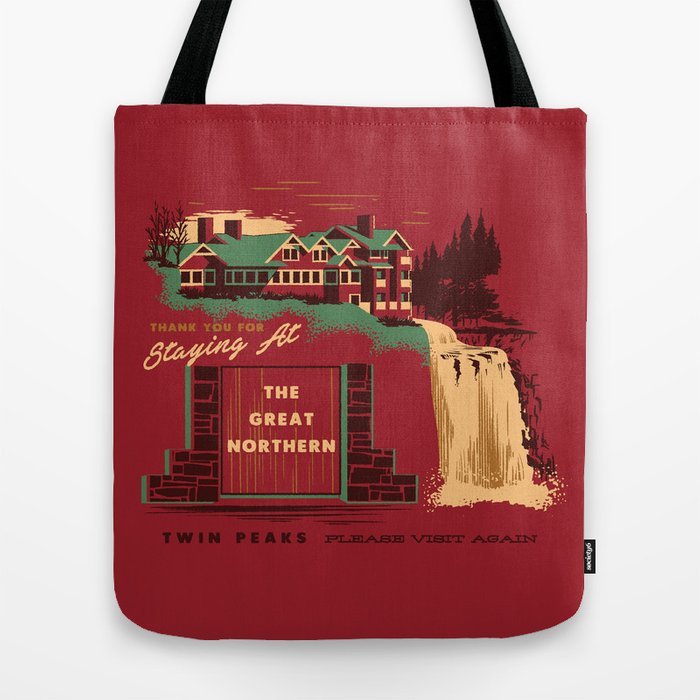 0b0d5855127 THE GREAT NORTHERN Tote Bag