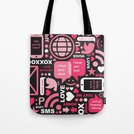 Social Inbox Tote Bag