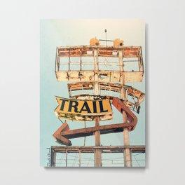 The Spanish Trail (defunct hotel) Metal Print