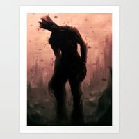 groot Art Prints featuring Groot by Varsha Vijayan