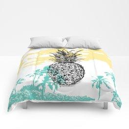 Pineapple print Comforters