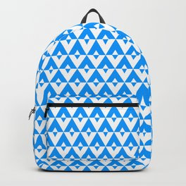Tui  Chevron Design - Azure Backpack