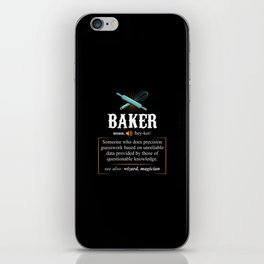 Baker Definition. - Gift iPhone Skin