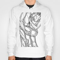 passion Hoodies featuring Passion by Jasmine Smith
