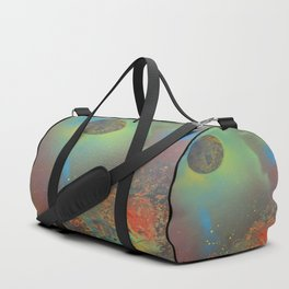 Planets Abstract Duffle Bag