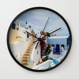 Imerovigli Santorini Wall Clock