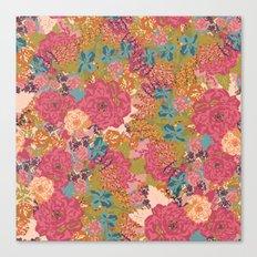 English Garden in Rose  Canvas Print