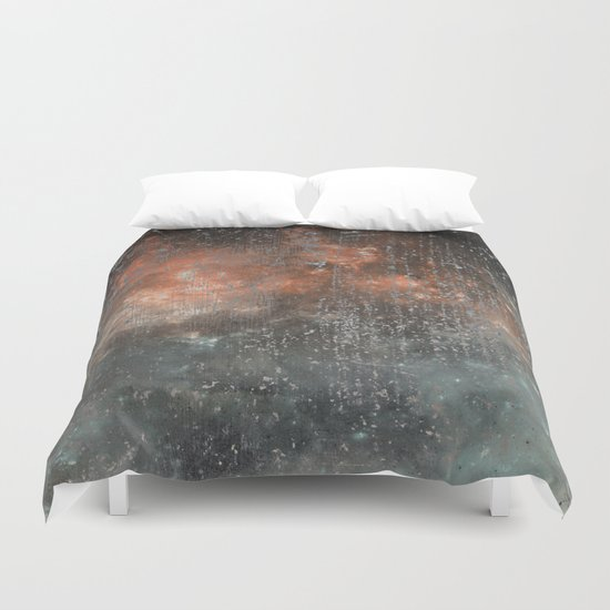 Fire beyond the Ashes Duvet Cover
