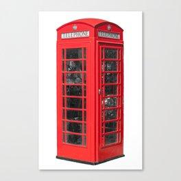 Iconic Red UK Phone Box Canvas Print