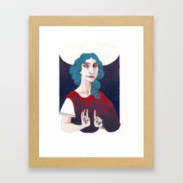 Ipazia - Hypatia Framed Art Print