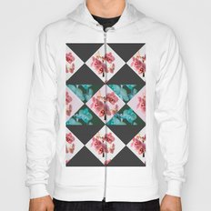 orchid patterns Hoody