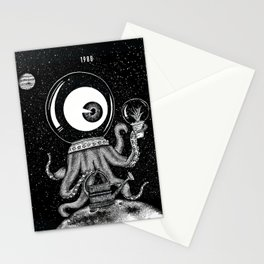 Martian Stationery Cards