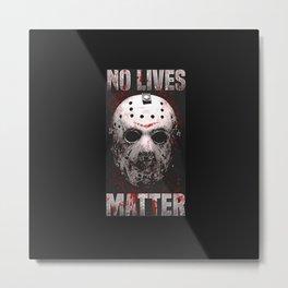 Jason Vorhees Metal Print