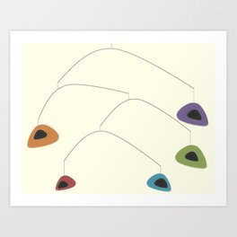 Mid-Century Modern Art 2.6 Art Print